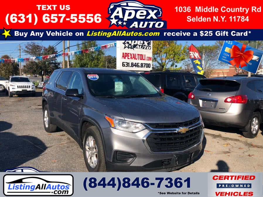 Used 2019 Chevrolet Traverse in Patchogue, New York | www.ListingAllAutos.com. Patchogue, New York