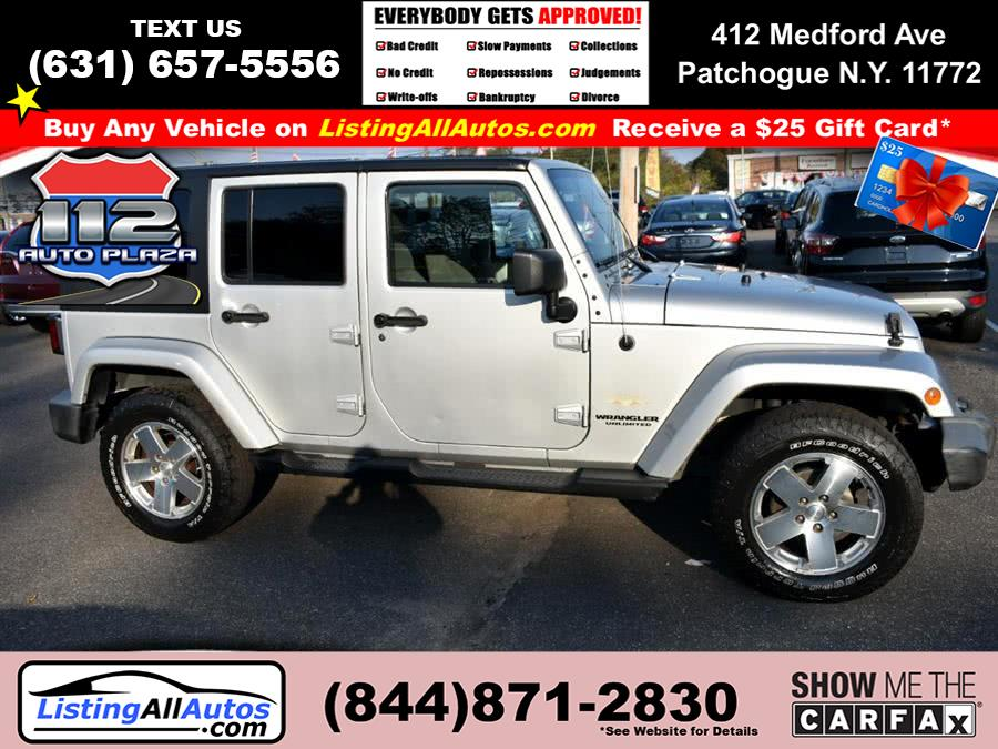 Used Jeep Wrangler Unlimited 4WD 4dr Sahara 2009   www.ListingAllAutos.com. Patchogue, New York