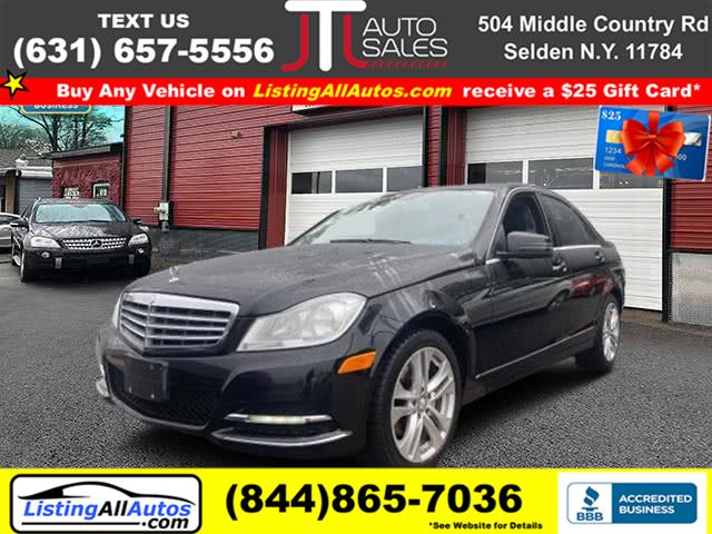 Used 2012 Mercedes-benz C-class in Patchogue, New York | www.ListingAllAutos.com. Patchogue, New York