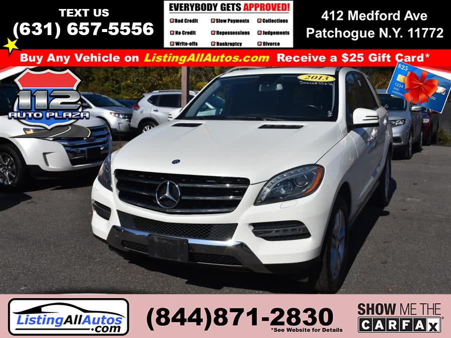 Used Mercedes-benz M-class 4MATIC 4dr ML 350 2013 | www.ListingAllAutos.com. Patchogue, New York