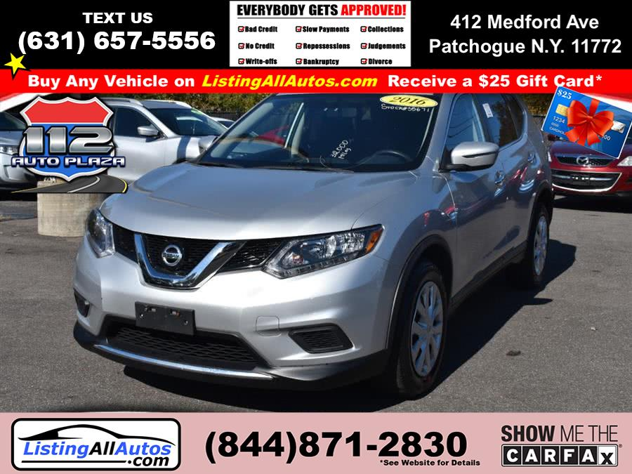 Used Nissan Rogue FWD 4dr S 2016 | www.ListingAllAutos.com. Patchogue, New York