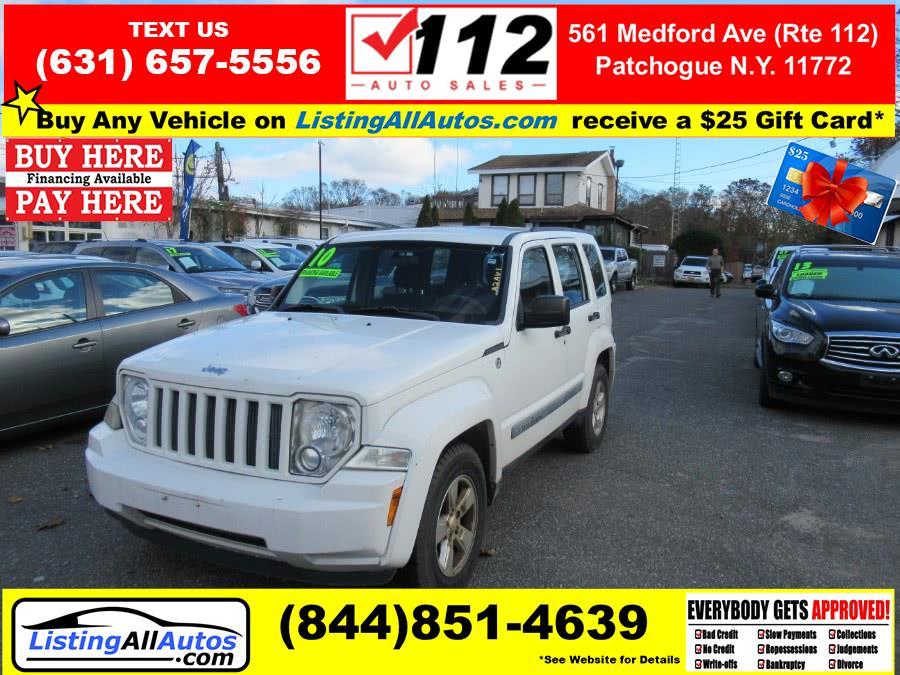 Used 2010 Jeep Liberty in Patchogue, New York | www.ListingAllAutos.com. Patchogue, New York
