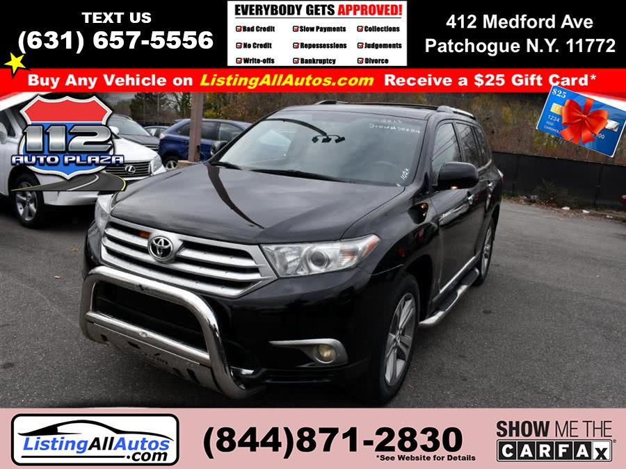 Used Toyota Highlander 4WD 4dr V6  Limited (Natl) 2013 | www.ListingAllAutos.com. Patchogue, New York