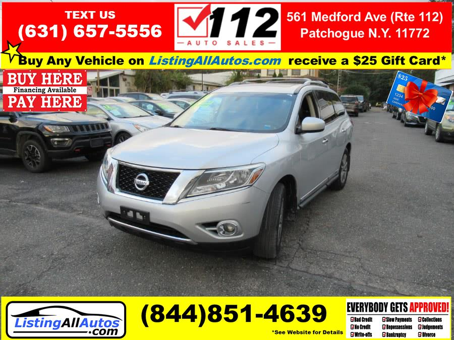 Used Nissan Pathfinder 4WD 4dr SV 2014 | www.ListingAllAutos.com. Patchogue, New York