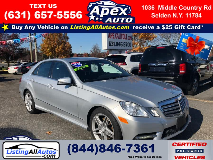 Used Mercedes-Benz E-Class 4dr Sdn E350 Luxury 4MATIC *Ltd Avail* 2013 | www.ListingAllAutos.com. Patchogue, New York