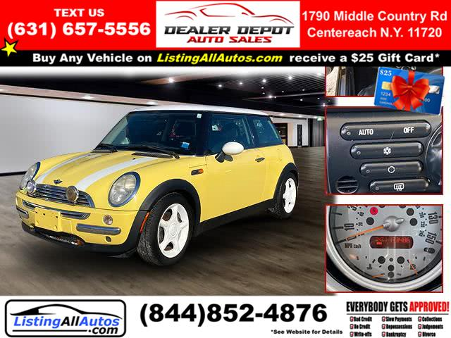 Used 2003 Mini Cooper Hardtop in Patchogue, New York | www.ListingAllAutos.com. Patchogue, New York