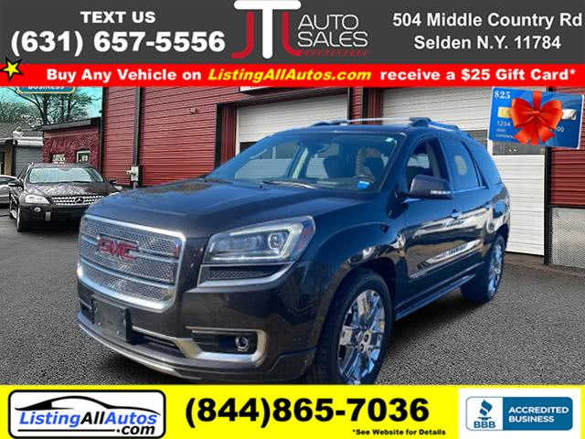 Used 2015 GMC Acadia in Patchogue, New York | www.ListingAllAutos.com. Patchogue, New York