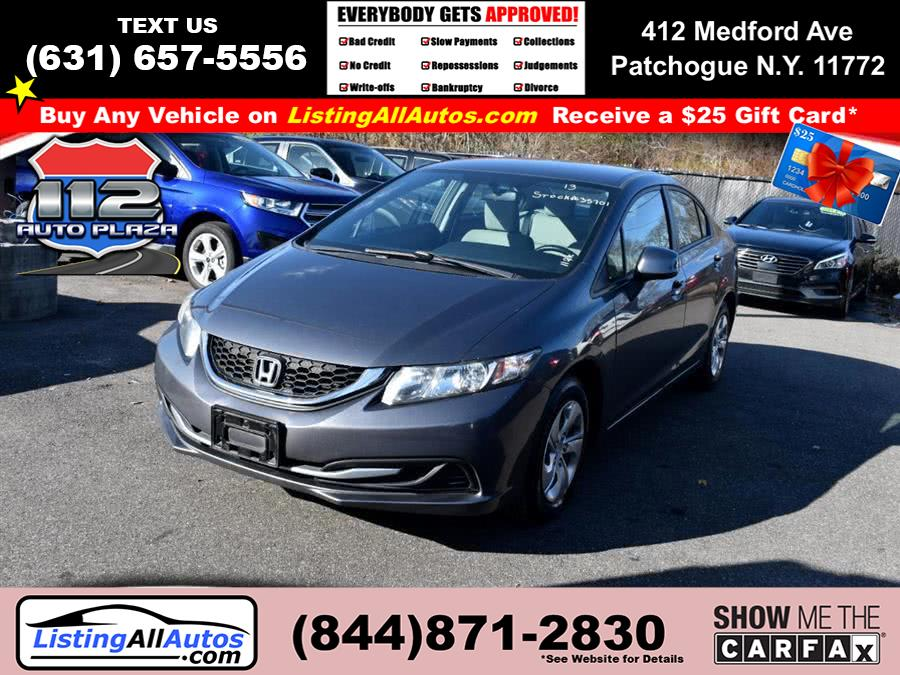 Used Honda Civic Sdn 4dr Auto LX 2013 | www.ListingAllAutos.com. Patchogue, New York