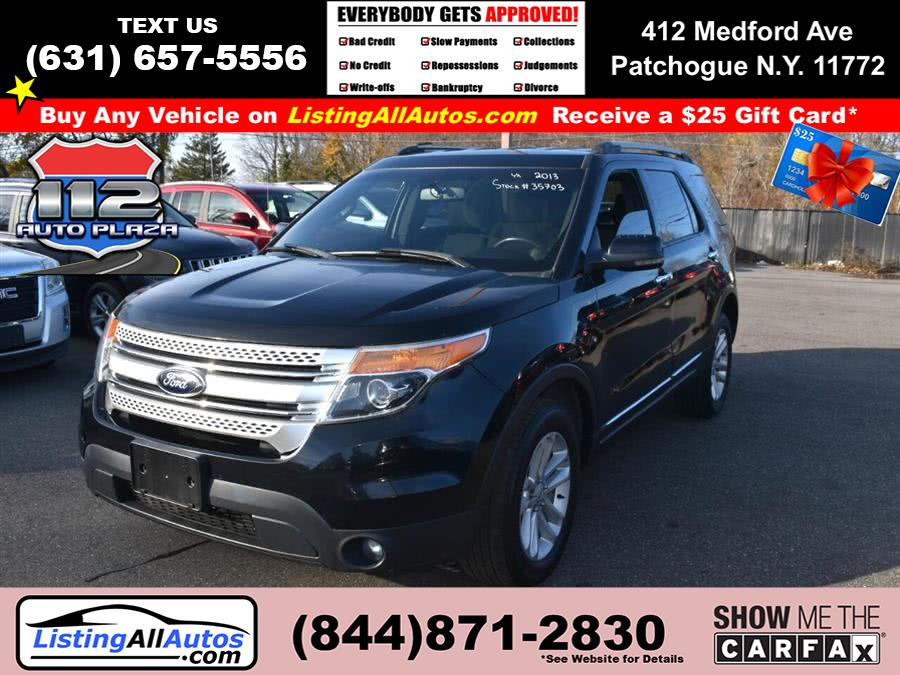 Used Ford Explorer 4WD 4dr XLT 2013 | www.ListingAllAutos.com. Patchogue, New York