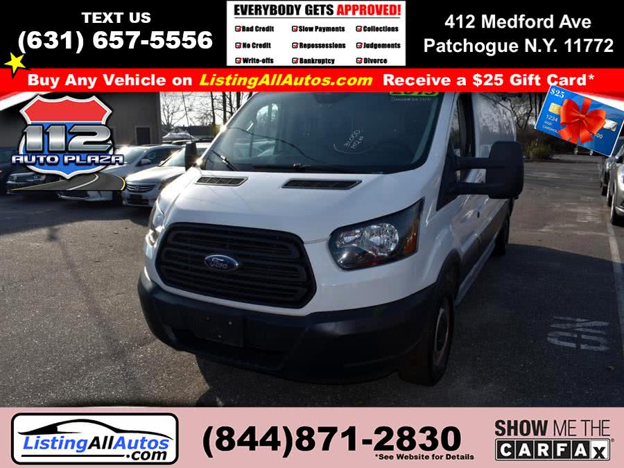 "Used Ford Transit Cargo Van T-150 148"" Low Rf 8600 GVWR Sliding RH Dr 2015 