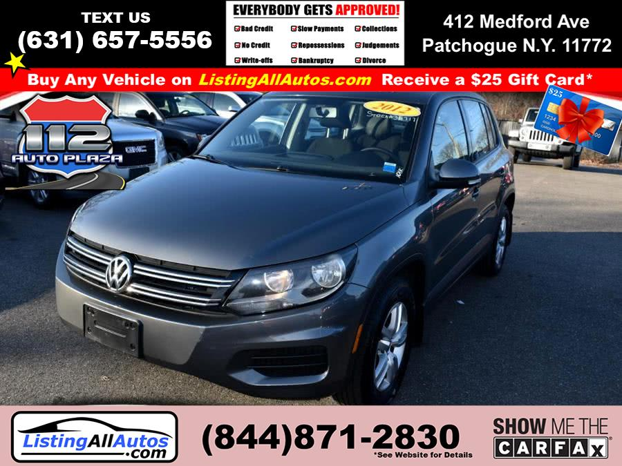 Used 2012 Volkswagen Tiguan in Patchogue, New York | www.ListingAllAutos.com. Patchogue, New York