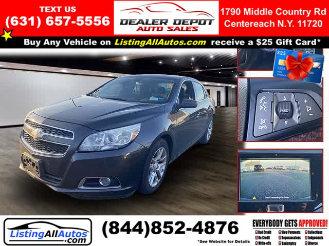 Used Chevrolet Malibu 4dr Sdn ECO w/2SA 2013 | www.ListingAllAutos.com. Patchogue, New York