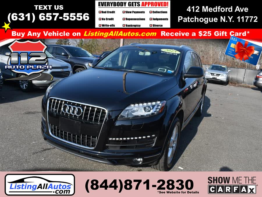 Used 2015 Audi Q7 in Patchogue, New York | www.ListingAllAutos.com. Patchogue, New York