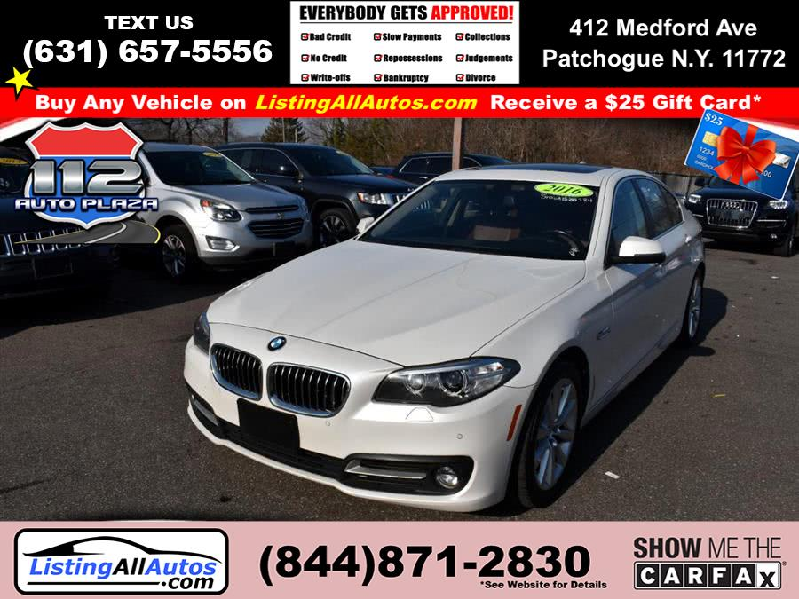 Used 2016 BMW 5 Series in Patchogue, New York | www.ListingAllAutos.com. Patchogue, New York