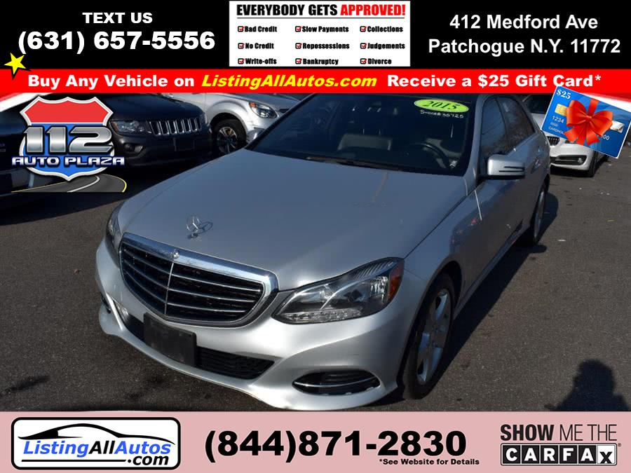 Used Mercedes-benz E-class 4dr Sdn E 350 Luxury 4MATIC 2015 | www.ListingAllAutos.com. Patchogue, New York