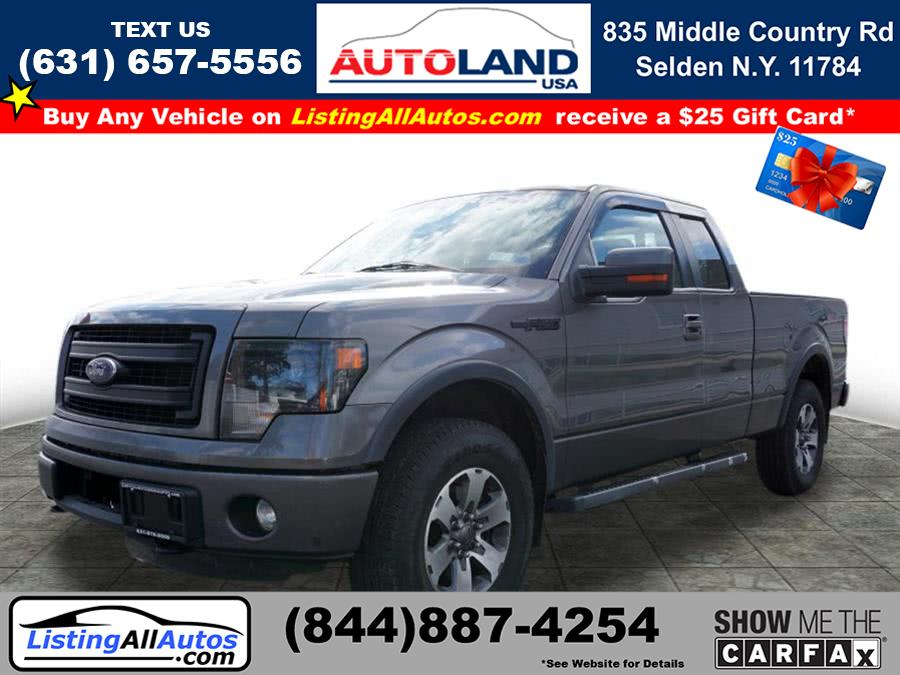 Used Ford F-150 FX4 2013 | www.ListingAllAutos.com. Patchogue, New York