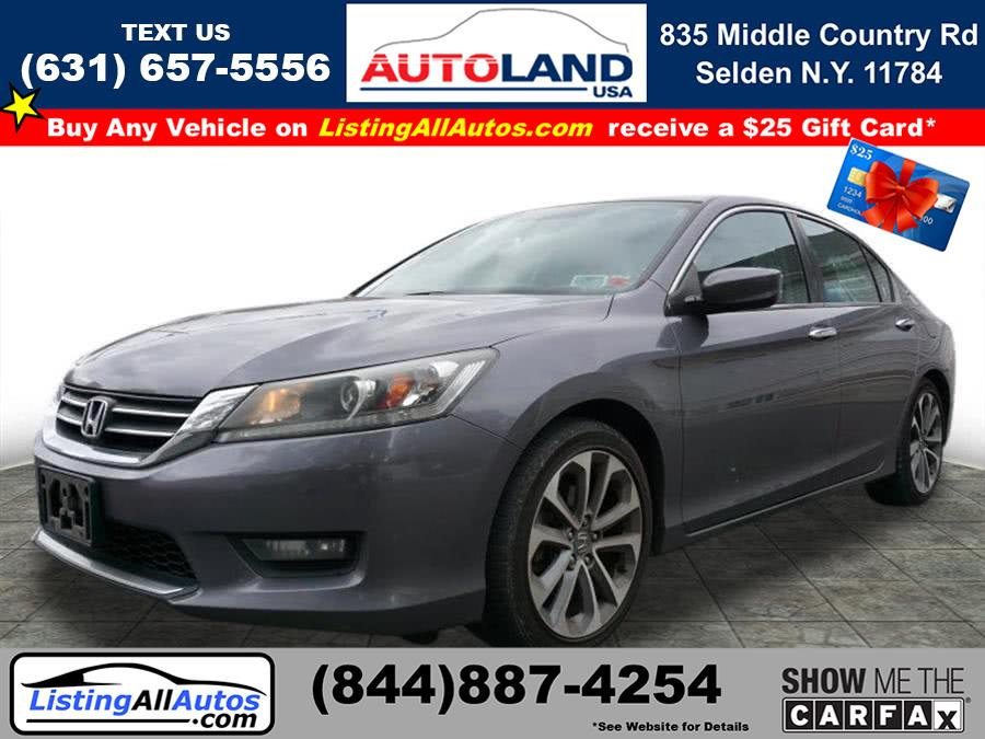 Used 2014 Honda Accord in Patchogue, New York | www.ListingAllAutos.com. Patchogue, New York
