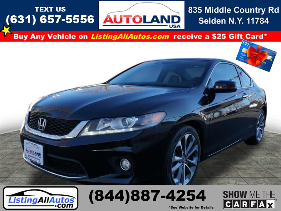 Used Honda Accord EX-L V6 2015 | www.ListingAllAutos.com. Patchogue, New York