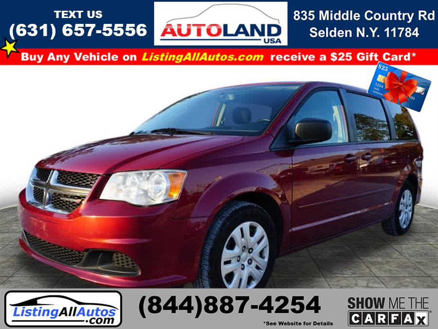 Used 2015 Dodge Grand Caravan in Patchogue, New York | www.ListingAllAutos.com. Patchogue, New York