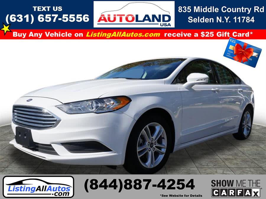 Used Ford Fusion SE 2018 | www.ListingAllAutos.com. Patchogue, New York