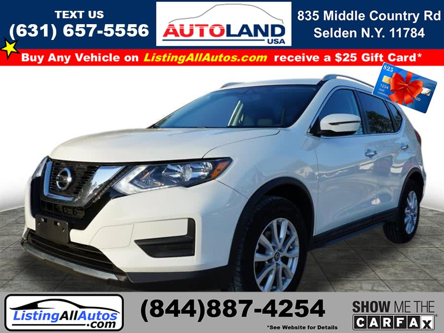 Used Nissan Rogue SV 2017 | www.ListingAllAutos.com. Patchogue, New York