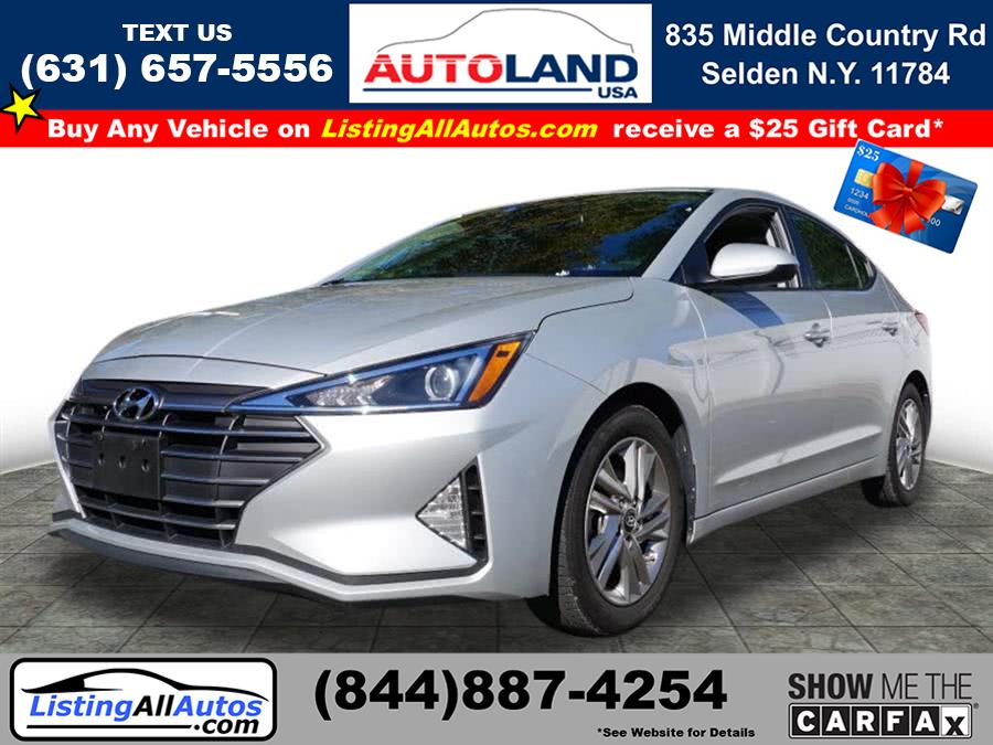 Used 2019 Hyundai Elantra in Patchogue, New York | www.ListingAllAutos.com. Patchogue, New York