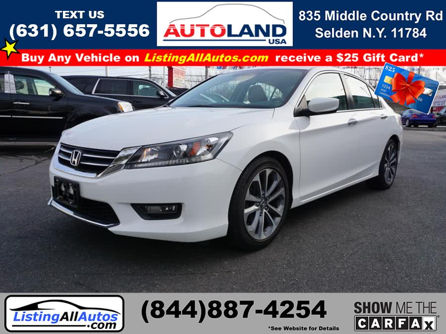 Used Honda Accord Sport 2015 | www.ListingAllAutos.com. Patchogue, New York