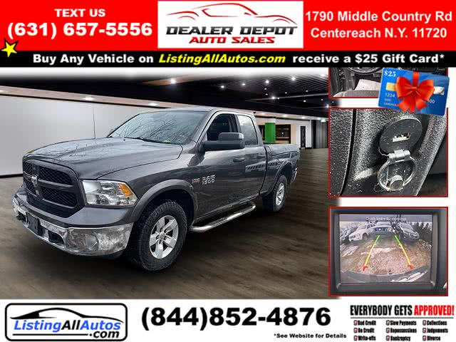 "Used Ram 1500 4WD Quad Cab 140.5"" Outdoorsman 2014 