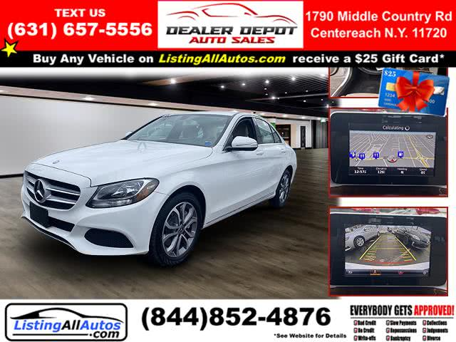 Used 2015 Mercedes-benz C-class in Patchogue, New York | www.ListingAllAutos.com. Patchogue, New York