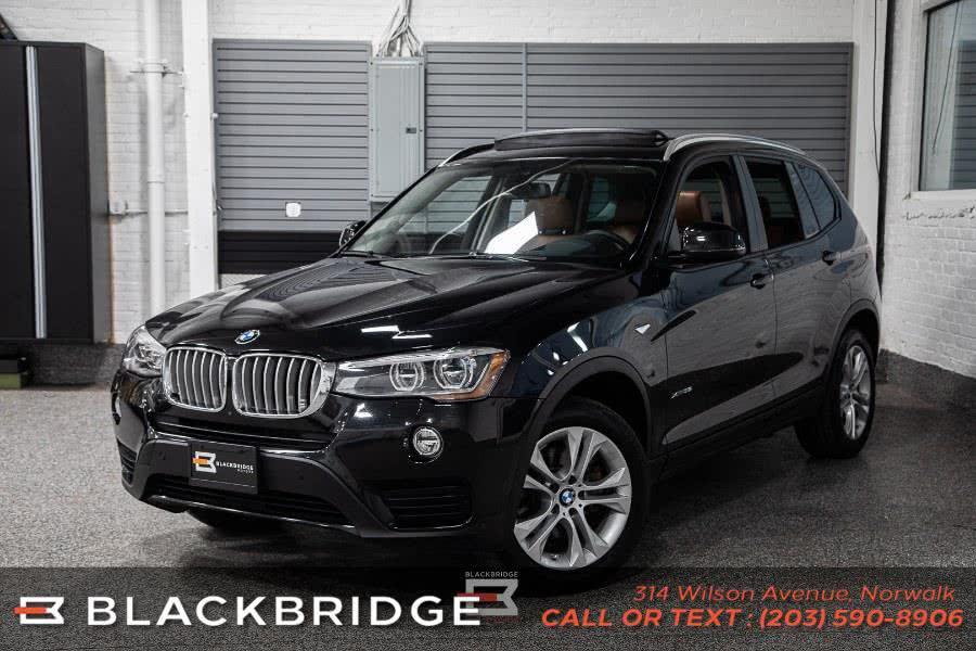 Used BMW X3 xDrive35i Sports Activity Vehicle 2017 | Black Bridge Motors, LLC. Norwalk, Connecticut