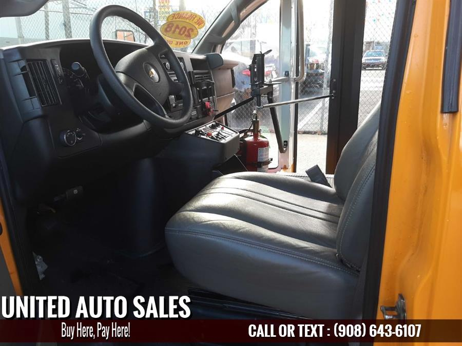 Used Chevrolet School Bus G3500 2018 | United Auto Sale. Newark, New Jersey