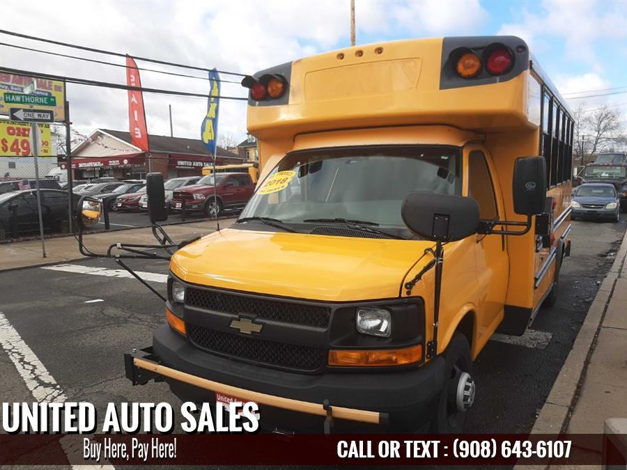 Used Chevrolet School Bus W/C 2018 | United Auto Sale. Newark, New Jersey