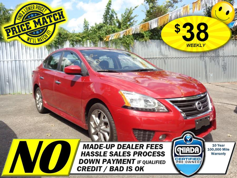 Used Nissan Sentra 4dr Sdn I4 CVT SV 2014 | Sunrise Auto Sales of Elmont. Elmont, New York