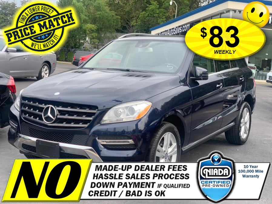 Used Mercedes-Benz M-Class 4MATIC 4dr ML350 2014 | Sunrise Auto Sales of Elmont. Elmont, New York