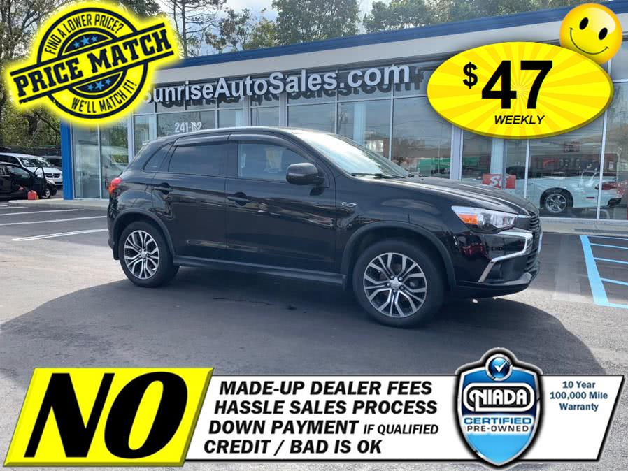 2016 Mitsubishi Outlander Sport AWC 4dr CVT 2.4 ES, available for sale in Elmont, NY