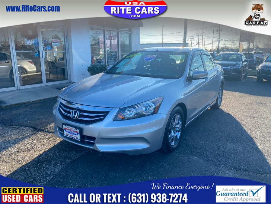Used Honda Accord Sdn 4dr I4 Auto SE 2011 | Rite Cars, Inc. Lindenhurst, New York
