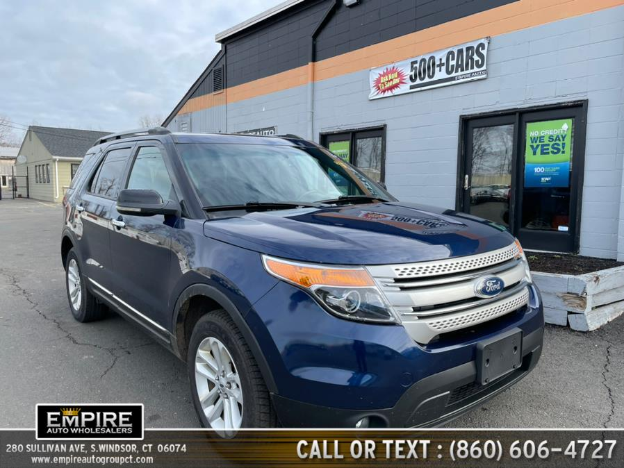 Used Ford Explorer 4WD 4dr XLT 2012 | Empire Auto Wholesalers. S.Windsor, Connecticut