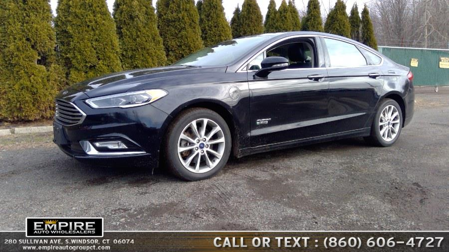 Used Ford Fusion Energi SE FWD 2017 | Empire Auto Wholesalers. S.Windsor, Connecticut