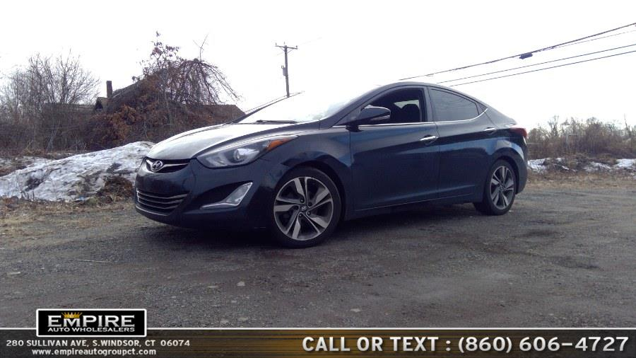 Used 2014 Hyundai Elantra in S.Windsor, Connecticut | Empire Auto Wholesalers. S.Windsor, Connecticut