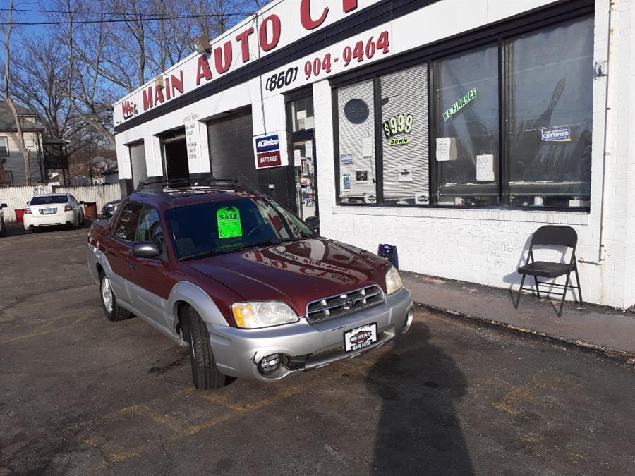 Used 2003 Subaru Baja in Hartford, Connecticut | Main Auto Sales LLC. Hartford, Connecticut