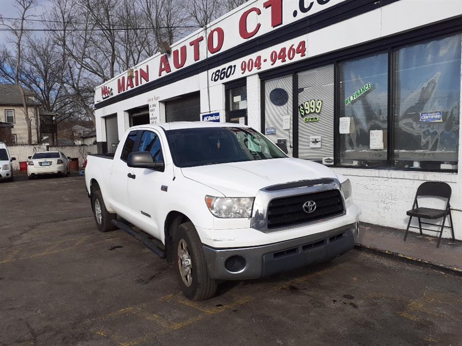 Used Toyota Tundra 4WD Truck Dbl 5.7L V8 6-Spd AT SR5 (Natl) 2009 | Main Auto Sales LLC. Hartford, Connecticut