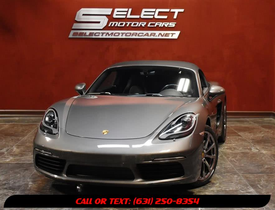 Used 2017 Porsche 718 Boxster in Deer Park, New York | Select Motor Cars. Deer Park, New York