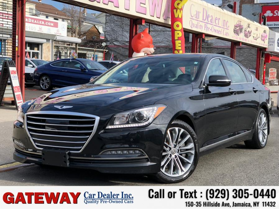 Used 2017 Genesis G80 in Jamaica, New York | Gateway Car Dealer Inc. Jamaica, New York
