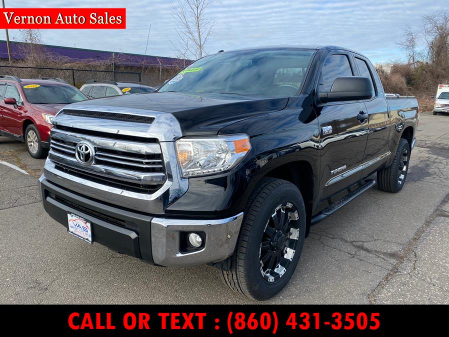 Used Toyota Tundra 4WD TRD Pro Double Cab 6.5'' Bed 5.7L (Natl) 2017 | Vernon Auto Sale & Service. Manchester, Connecticut