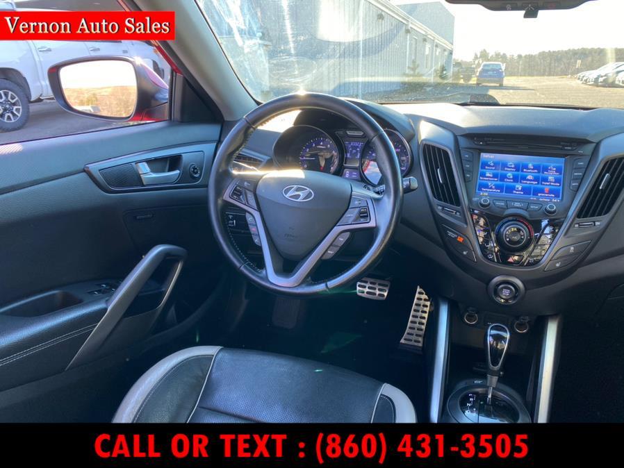 Used Hyundai Veloster 3dr Cpe Auto Turbo w/Black Int 2013 | Vernon Auto Sale & Service. Manchester, Connecticut