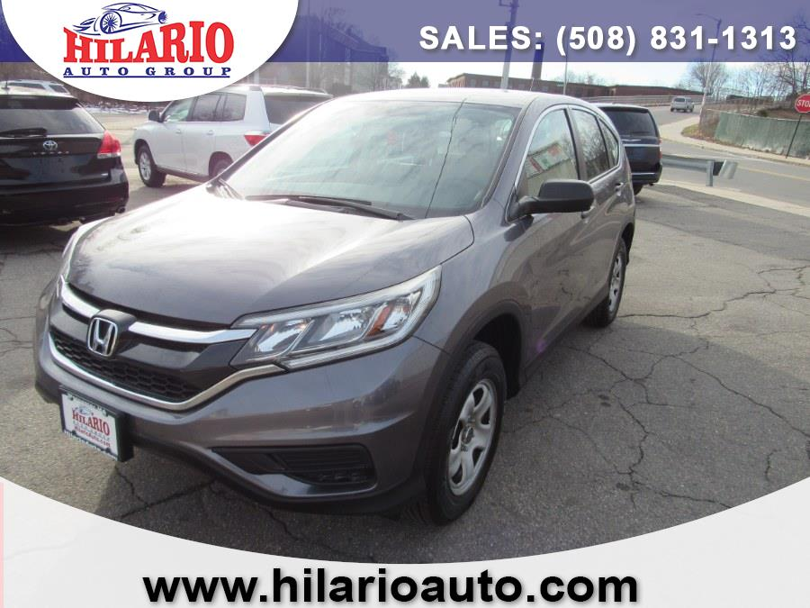 Used 2016 Honda CR-V in Worcester, Massachusetts | Hilario's Auto Sales Inc.. Worcester, Massachusetts
