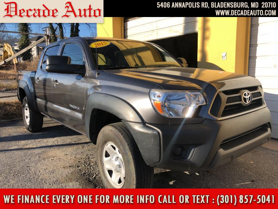 Used 2015 Toyota Tacoma in Bladensburg, Maryland | Decade Auto. Bladensburg, Maryland