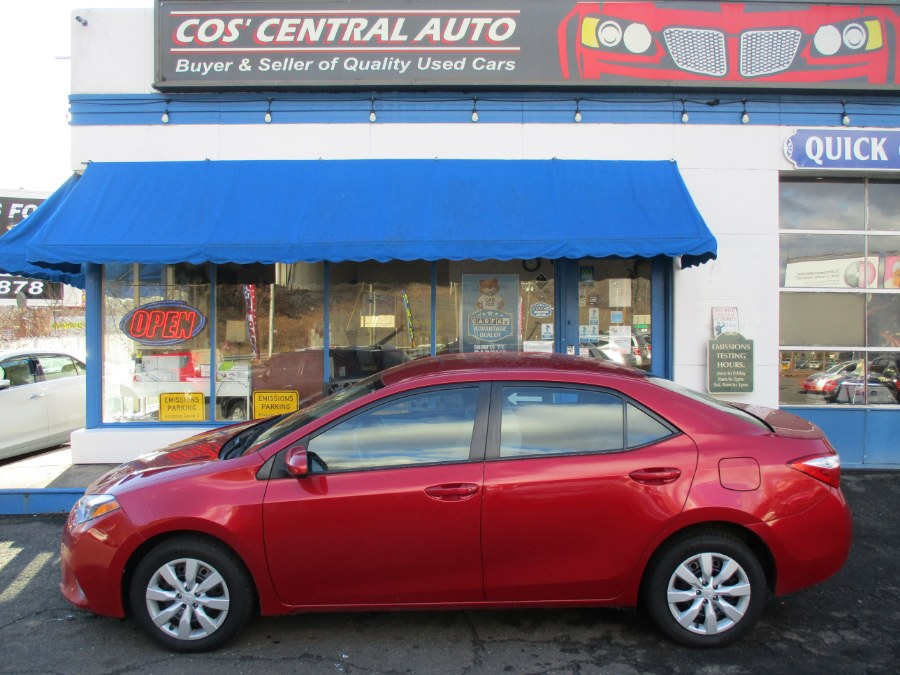 Used 2016 Toyota Corolla in Meriden, Connecticut | Cos Central Auto. Meriden, Connecticut