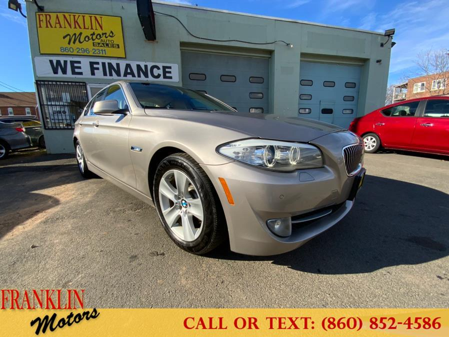 Used 2013 BMW 5 Series in Hartford, Connecticut   Franklin Motors Auto Sales LLC. Hartford, Connecticut