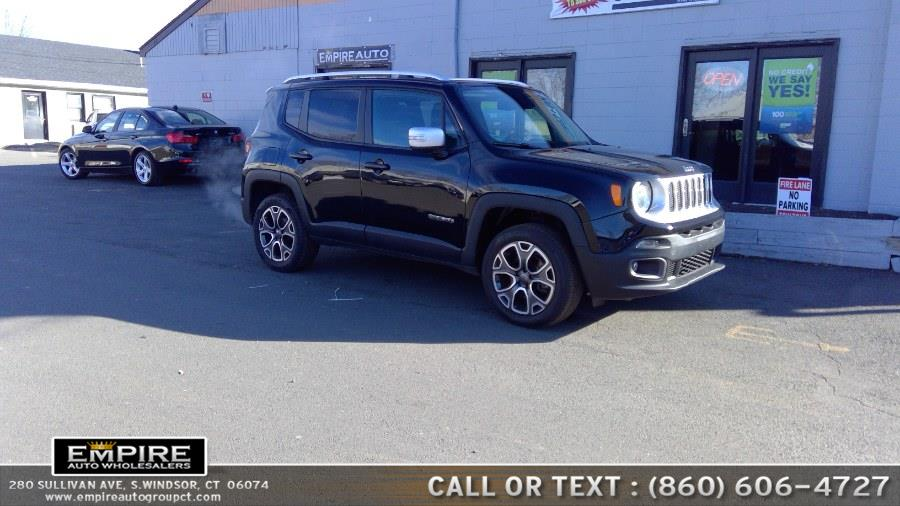 Used Jeep Renegade 4WD 4dr Limited 2015 | Empire Auto Wholesalers. S.Windsor, Connecticut